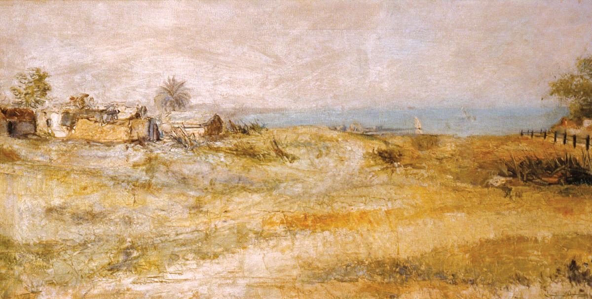 rashid al khalifa artwork oil on canvas