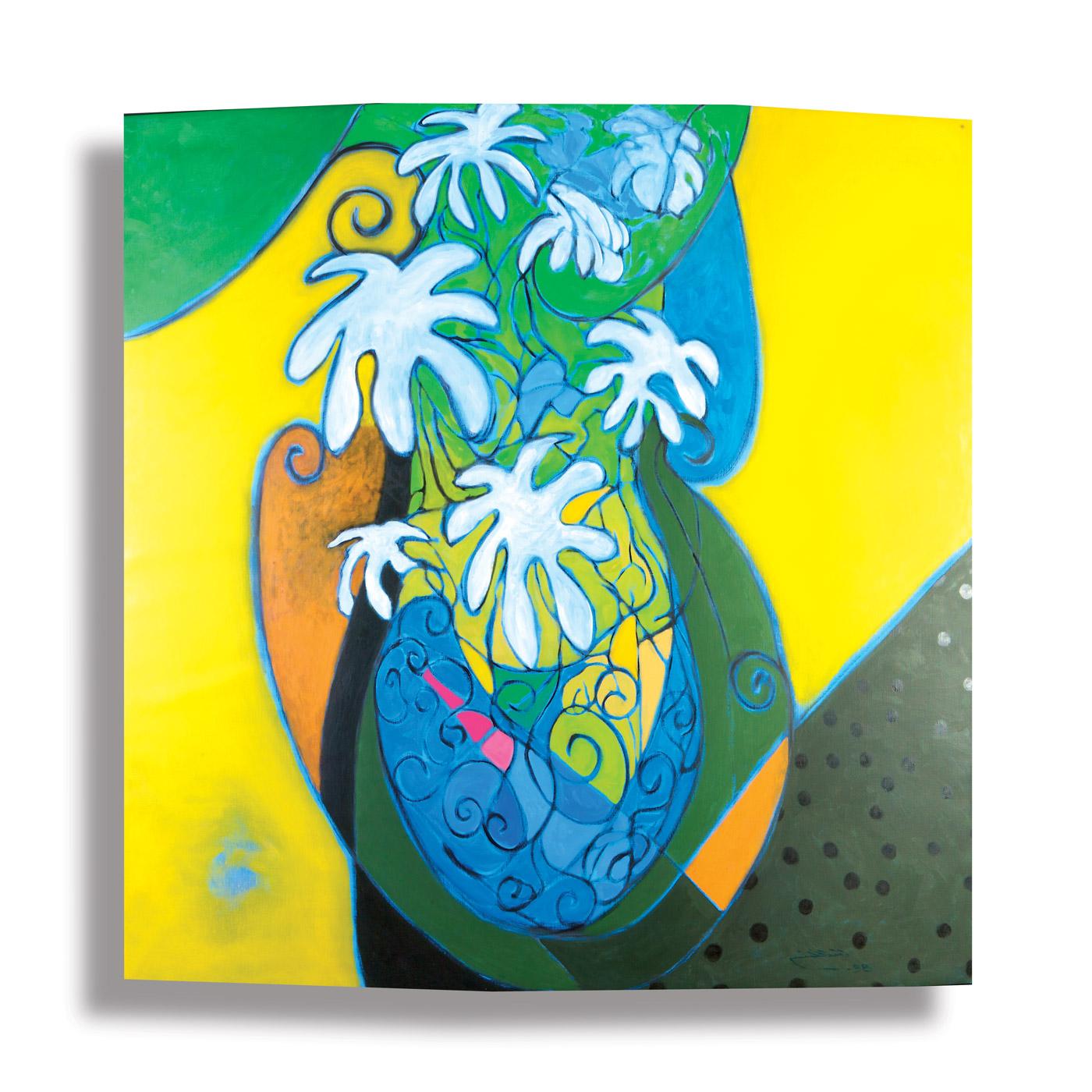 Fragmented-Abstraction-(1)_1998_Oil-on-canvas_168-x-168 rashid al khalifa