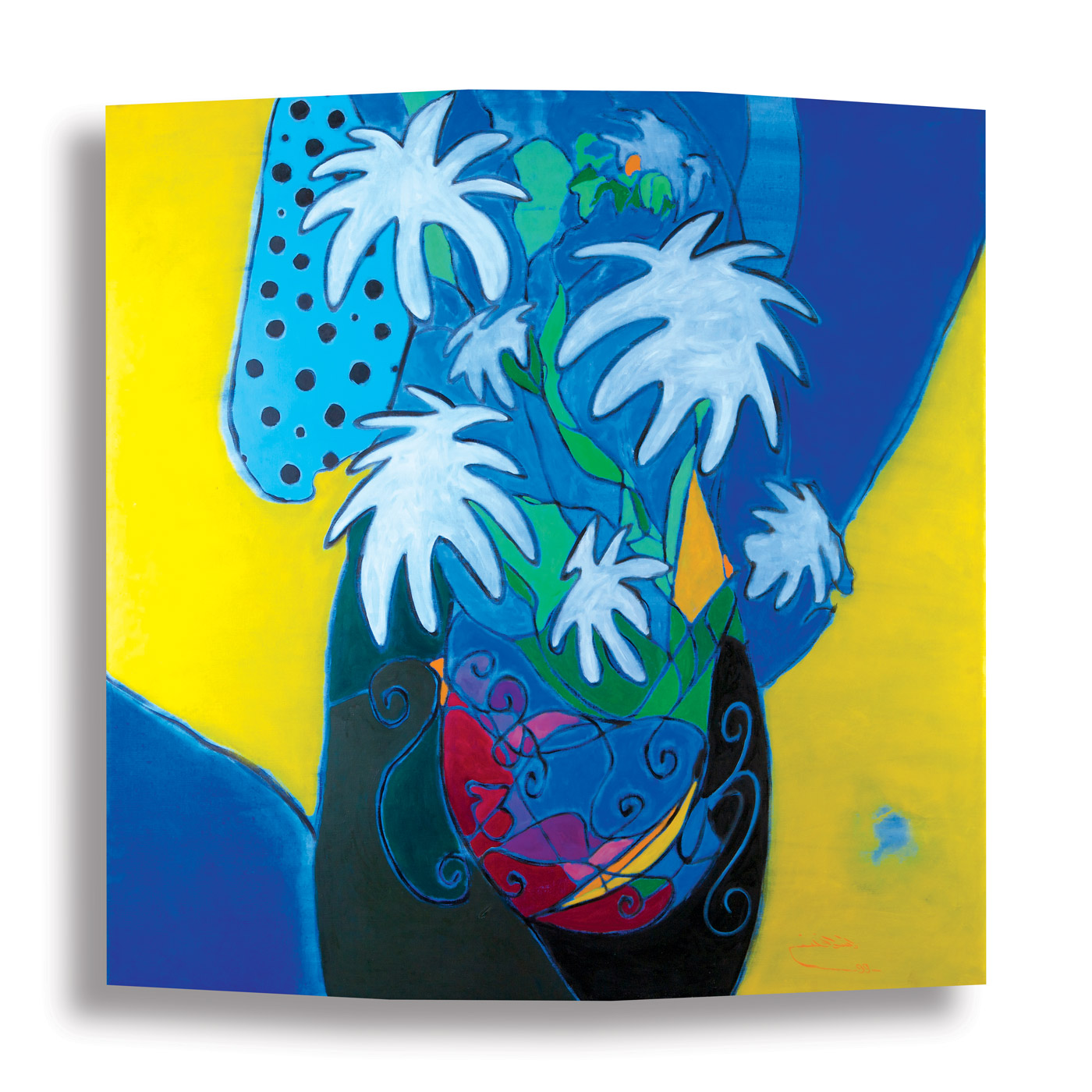 Fragmented-Abstraction--(2)_1999_Oil-on-canvas_168-x-168-cm rashid al khalifa