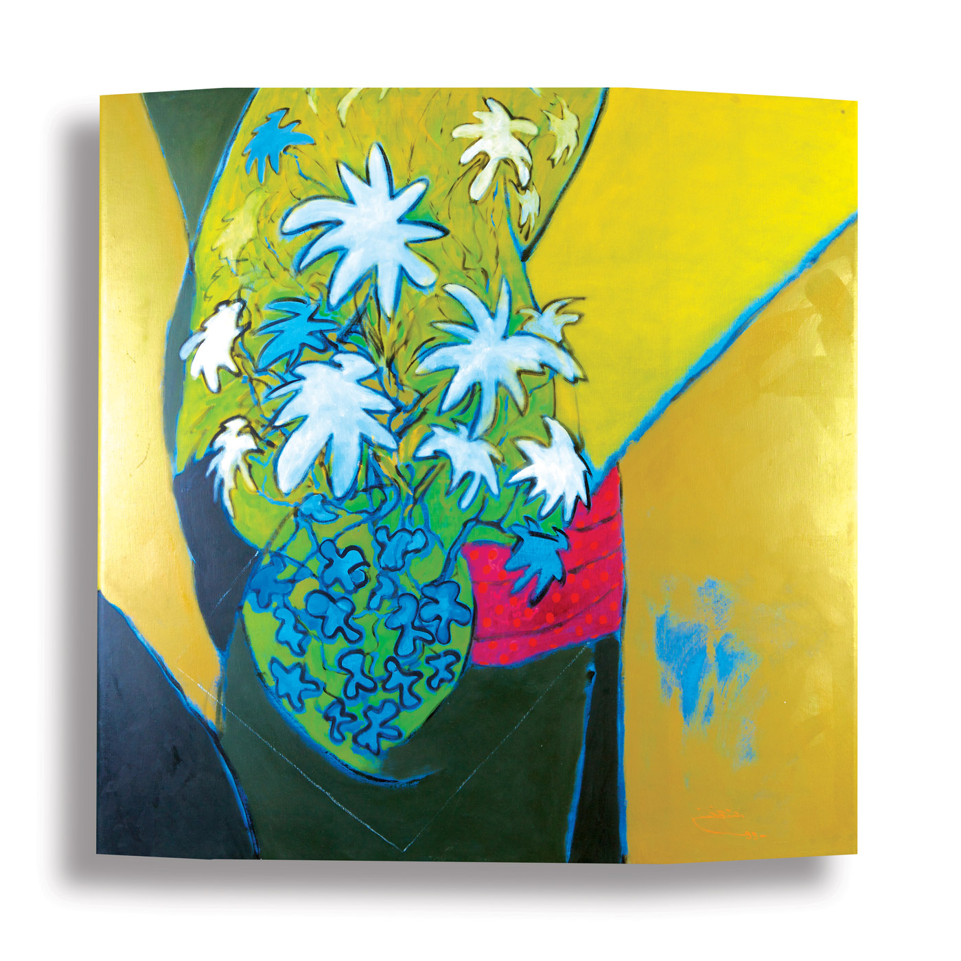Fragmented-Abstraction-(3)_1999_Oil-on-canvas_200-x-129-cm rashid al khalifa