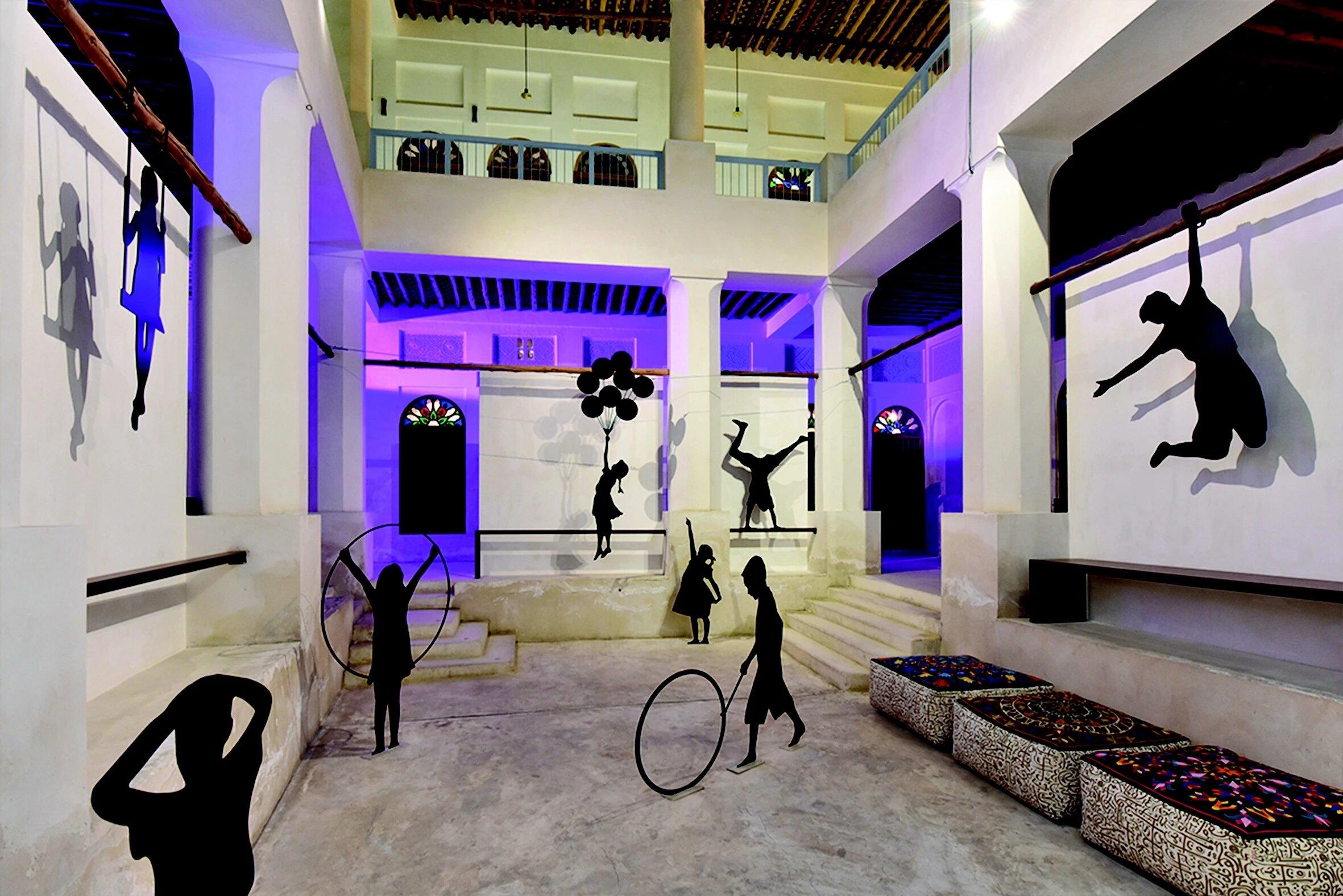 rashid al khalifa exhibition installation