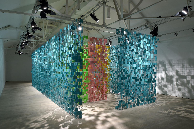 rashid al khalifa exhibition maze artwork