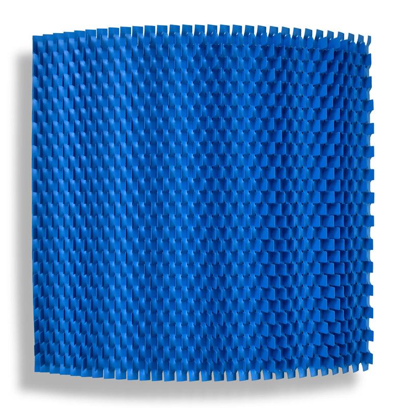 blue installation rashid khalifa