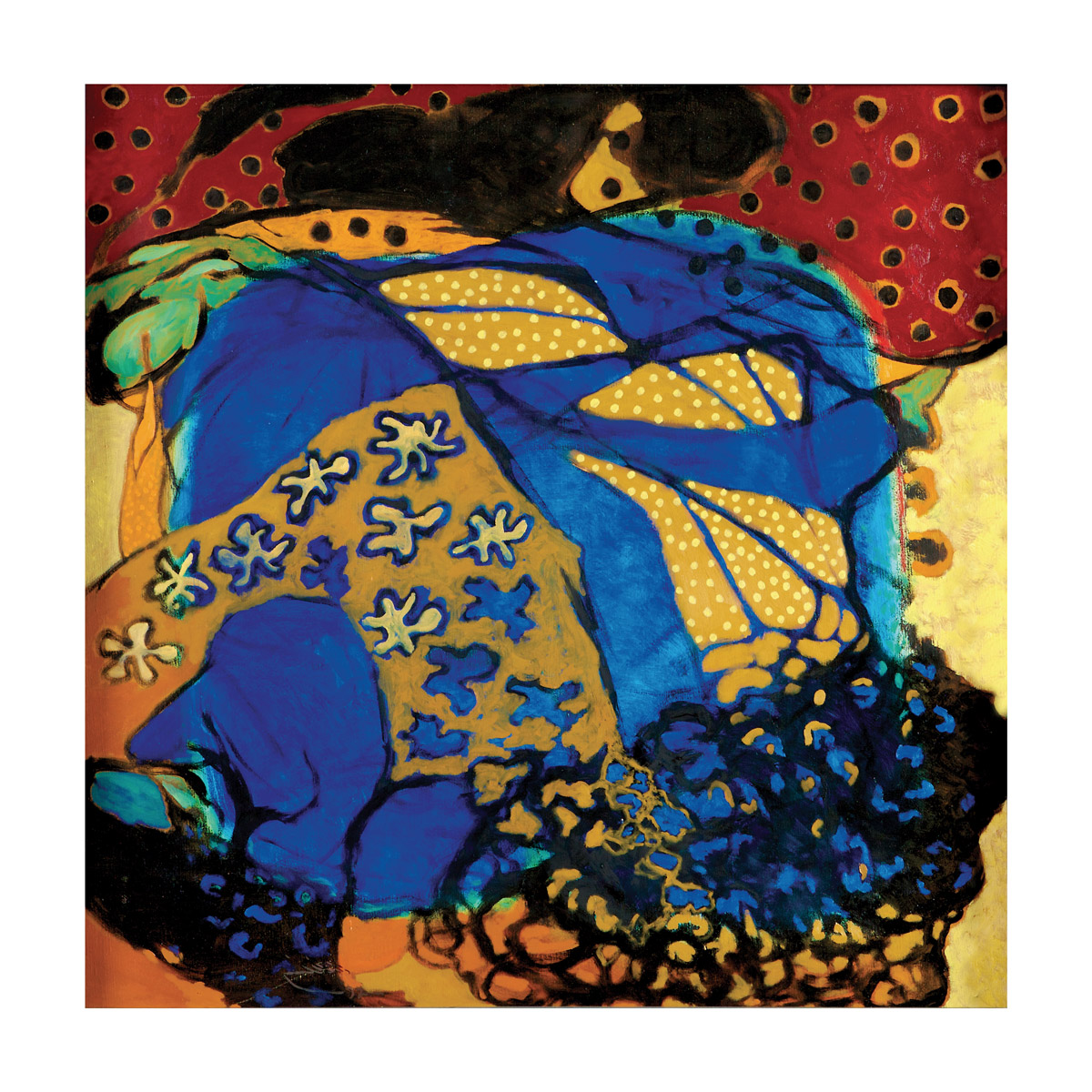 rashid al khalifa artwork abstract