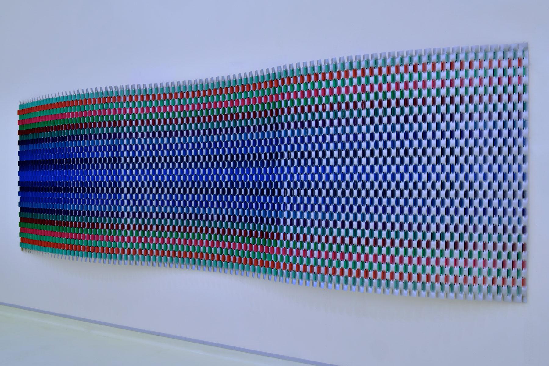 colourful installation rashid khalifa