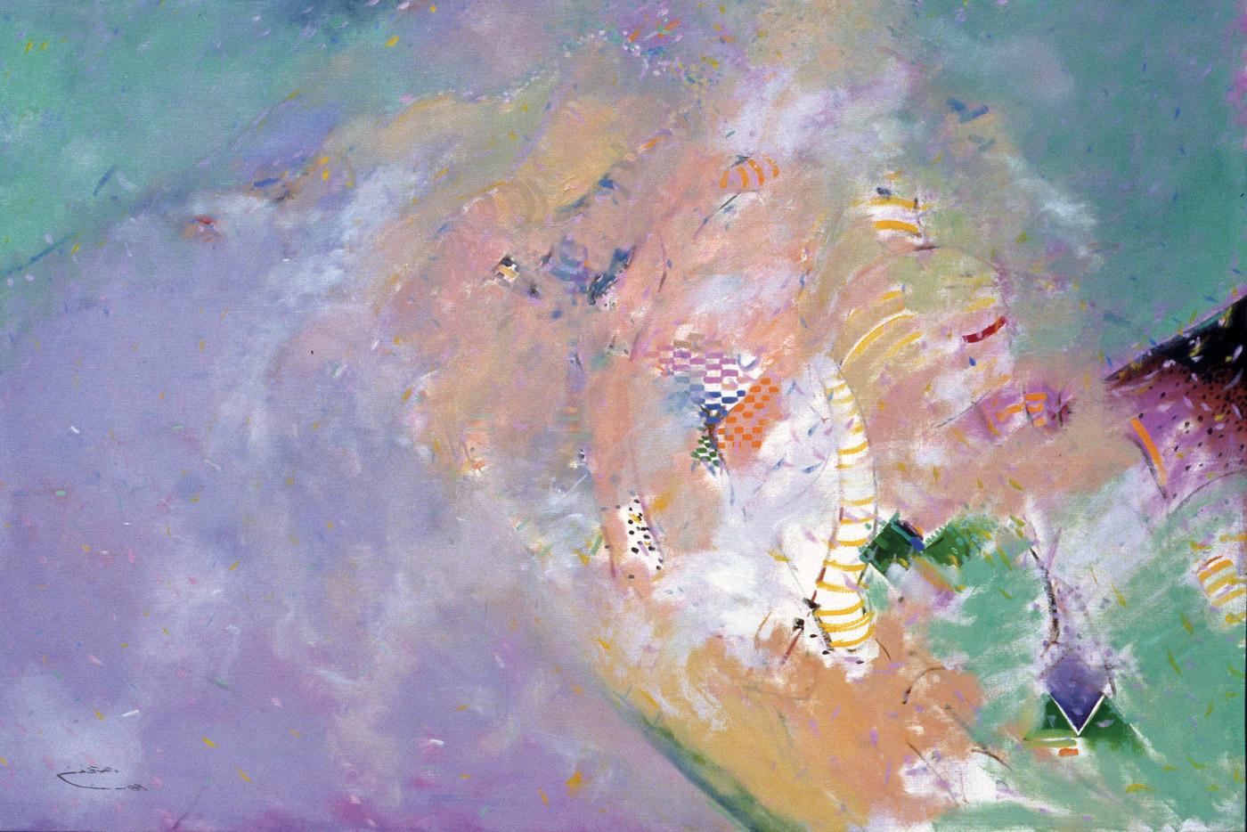 Abstract-Figurative-III_1989_Oil-on-Canvas rashid al khalifa