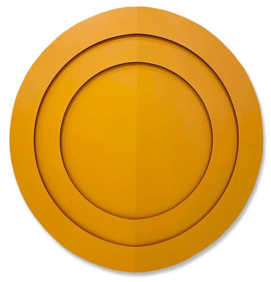 Full Circle in Orange, 2020