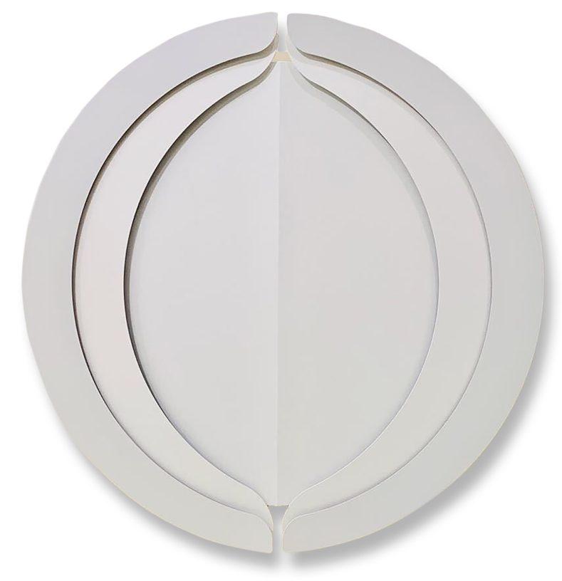 'Mizan II, 2020, Enamel on Aluminium