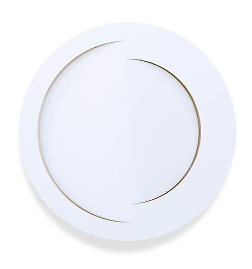 Cusp,2020,-Enamel-on-Aluminium,-150-cm-(d)