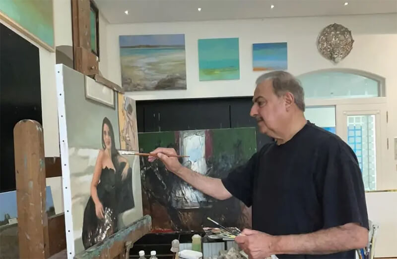 Bahraini royal family member to exhibit work in Israeli art show