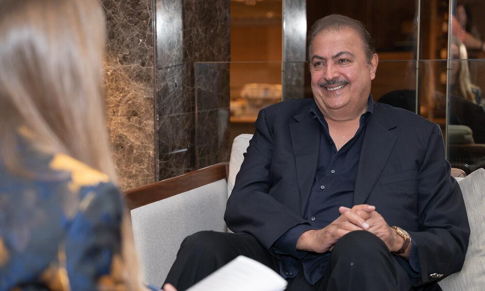 Rashid Al Khalifa speaking to SOCIETY magazine
